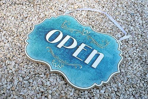 Open/Closed - o abierto/cerrado, letrero de la tienda ...