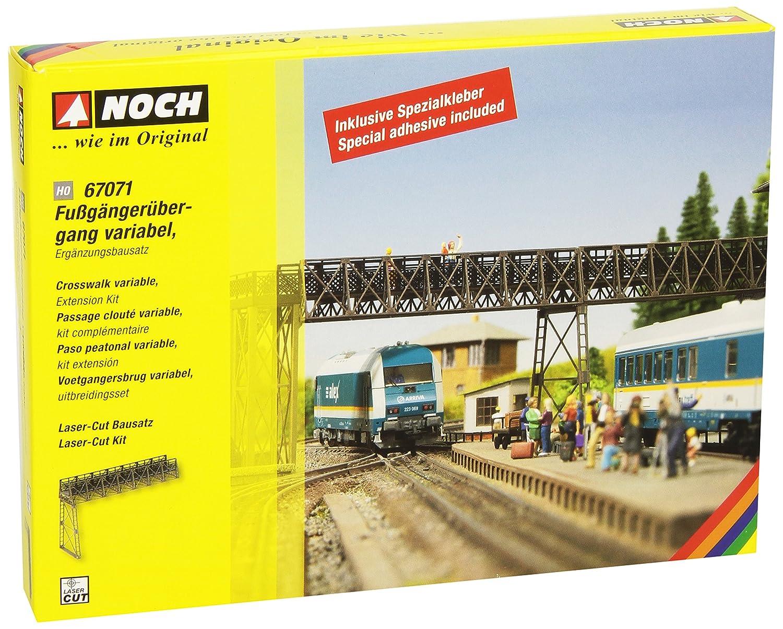 Noch 67071 - Bahnbauten: Fußgängerübergang, Ergänzung
