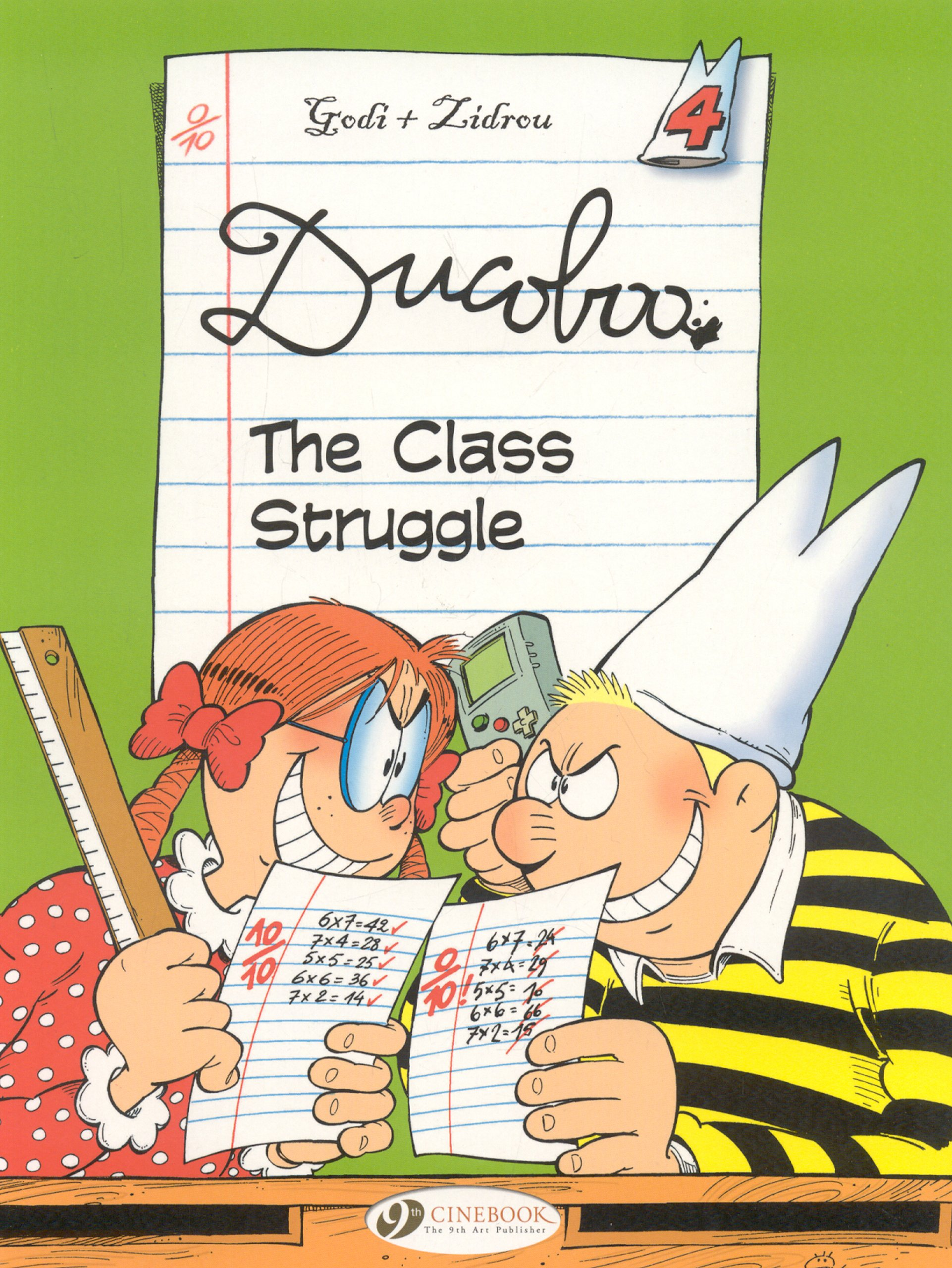 Read Online The Class Struggle (Ducoboo) PDF