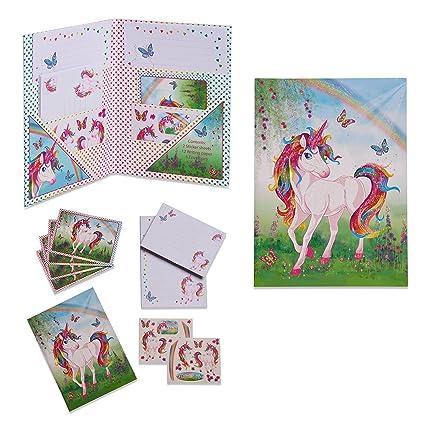 Kit de Unicornio escritura infantil