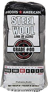 HOMAX PRODUCTS 10121100 Number 00 Steel Wool Pad, 12-Pack