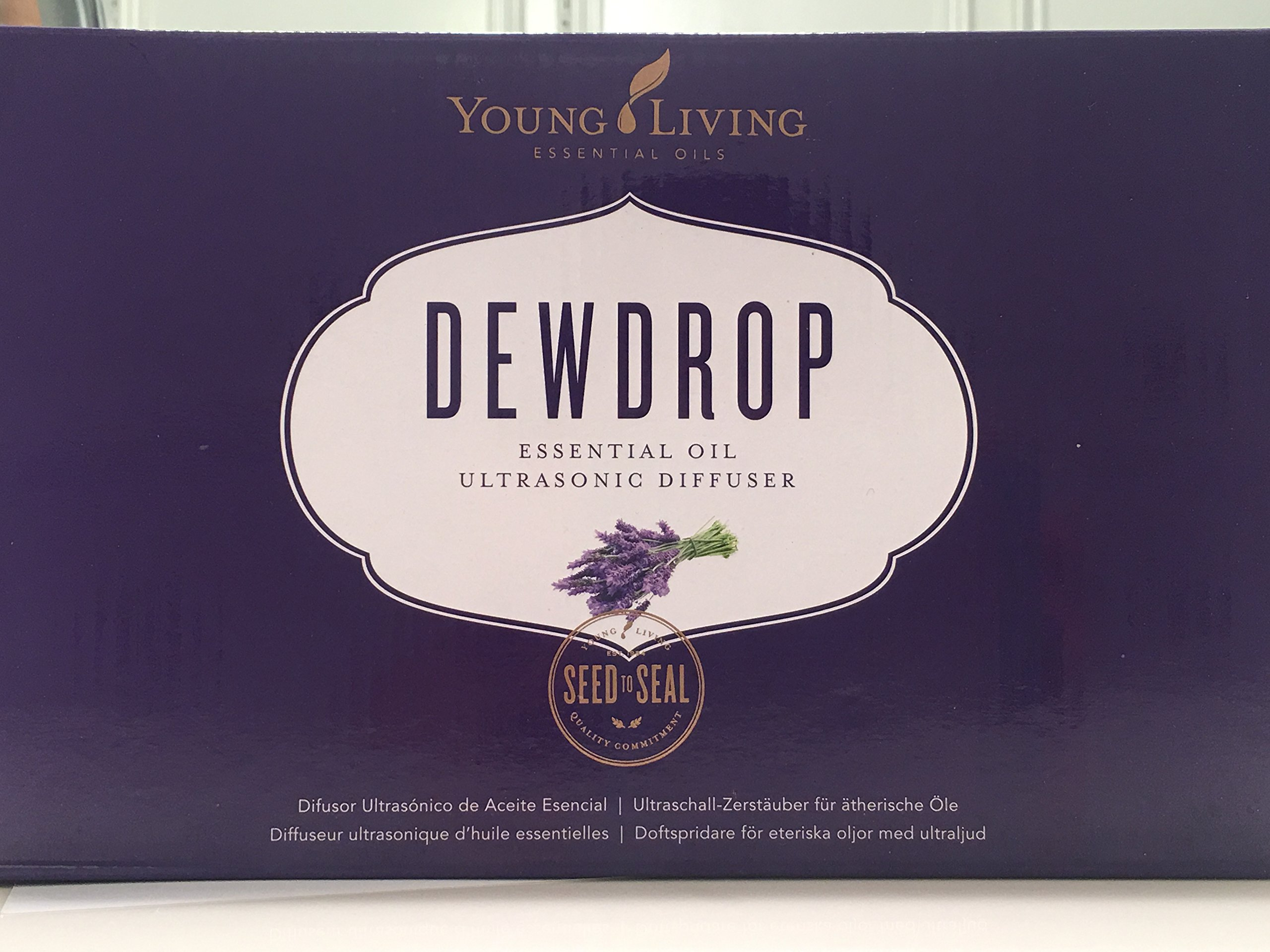 Young Living Essential Oil Home Ultrasonic Diffuser with Dew Drop Design Tear Drop by Young Living (Image #4)