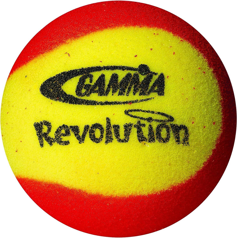 Gamma Pelota de Tenis Espuma Revolution 2 Unidades: Amazon.es ...