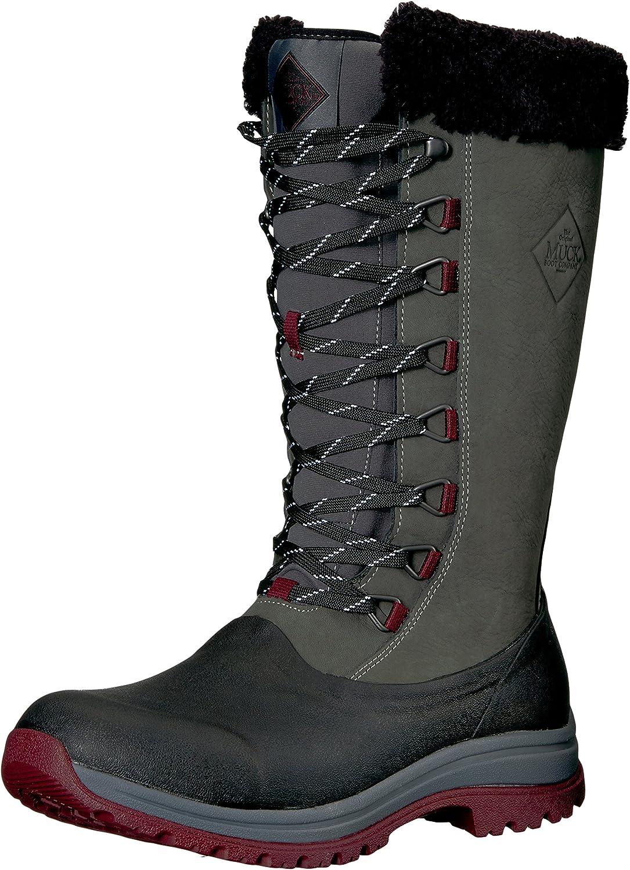 Muck Boots Arctic Apres grey slip-on lined waterproof boot
