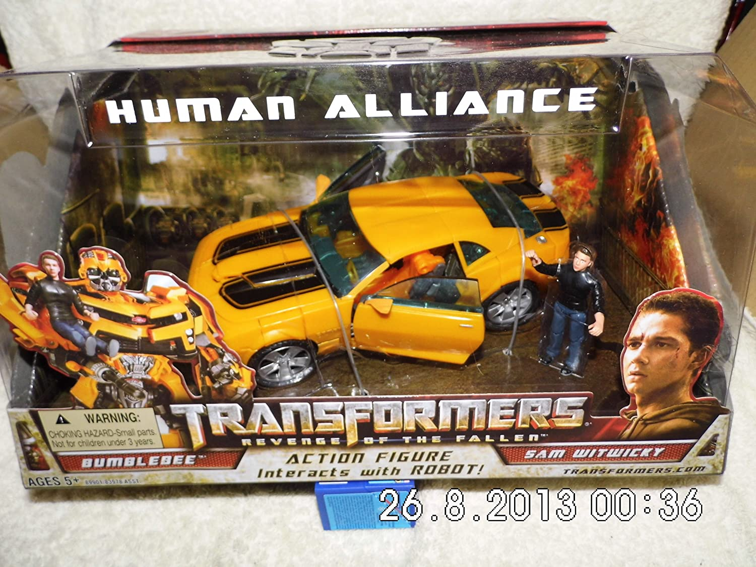 Transformers 09 movie 2 Class V Alliance level Bumblebee Sam in stock