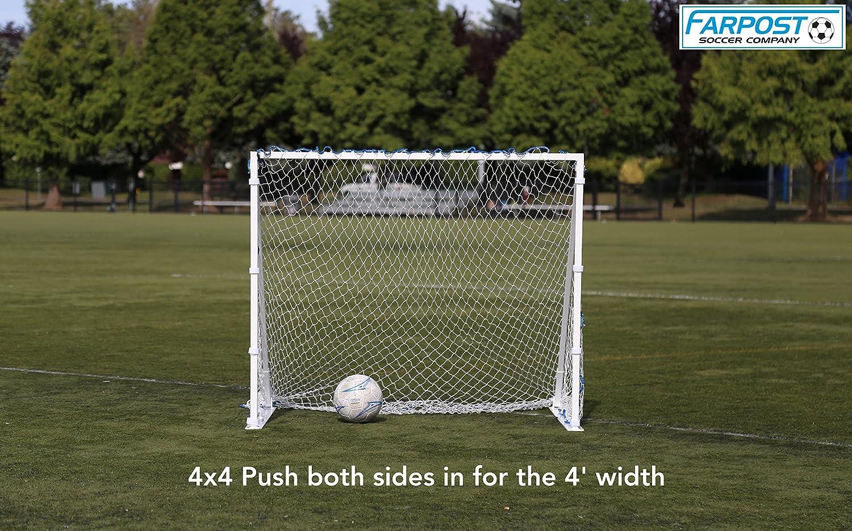 Sharpshooter, larghezza cambia da 4 'X8' a 4 'X6' a 4 'X4' On The Fly.  Portatile, alluminio calcio obiettivo - ideale per bambini a livello  professionale ...