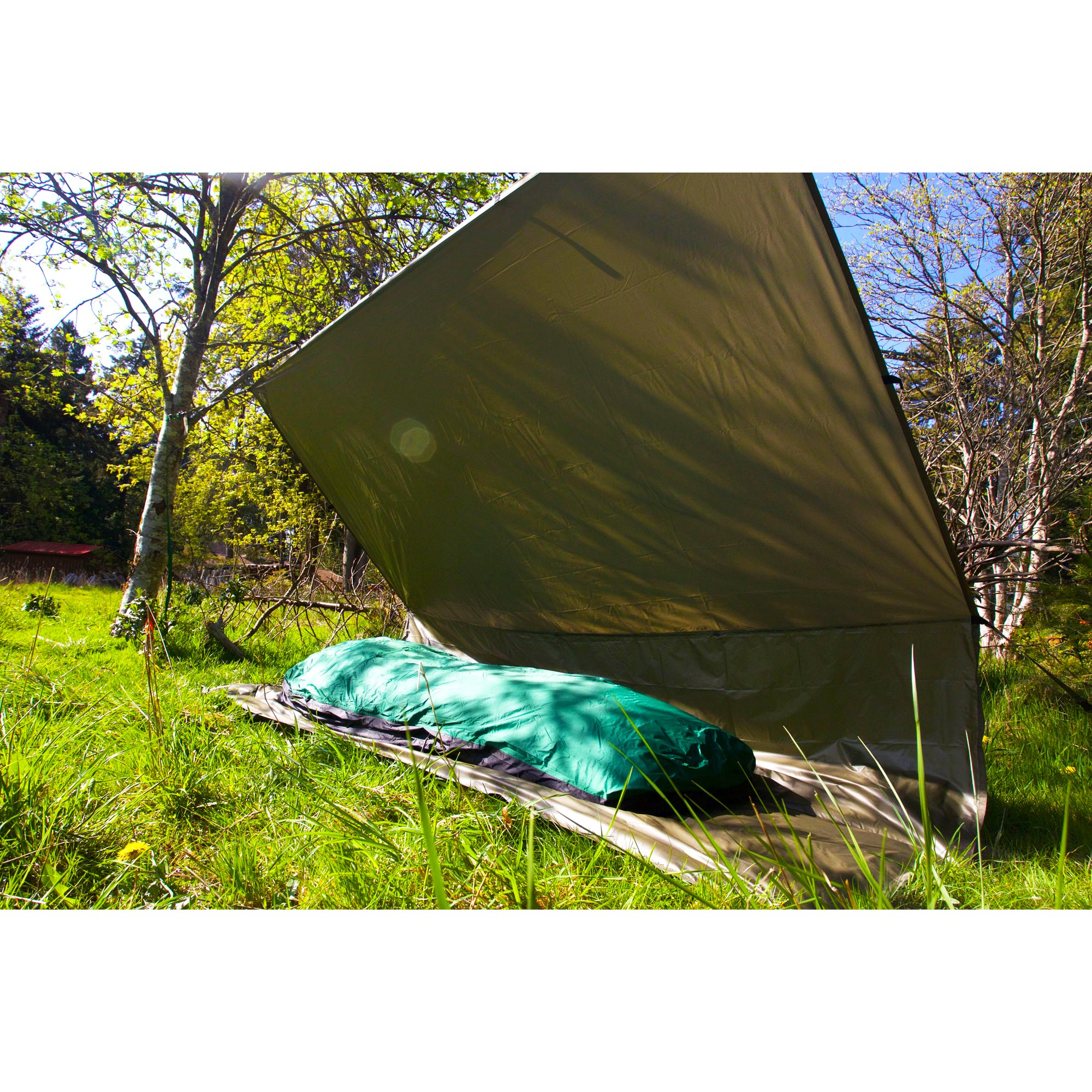 Aqua-Quest The Mummy Combo 2-pc Camping System - 100% Waterproof - 13 x 10 ft Large Guide Tarp - Green by Aqua Quest (Image #5)