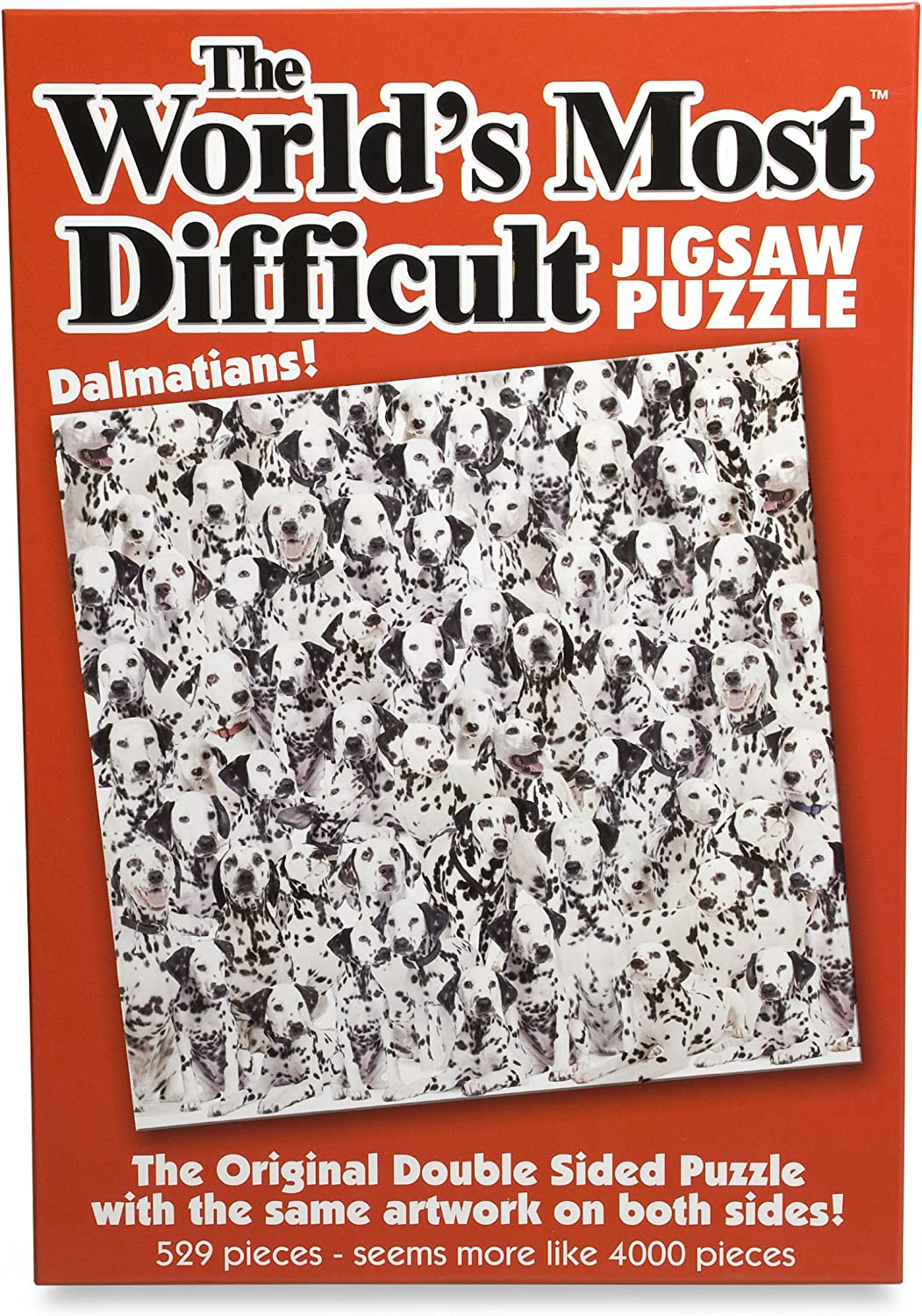 Paul Lamond 5995 The World/'s Most Difficult Jigsaws//Cats Puzzle 529-Piece