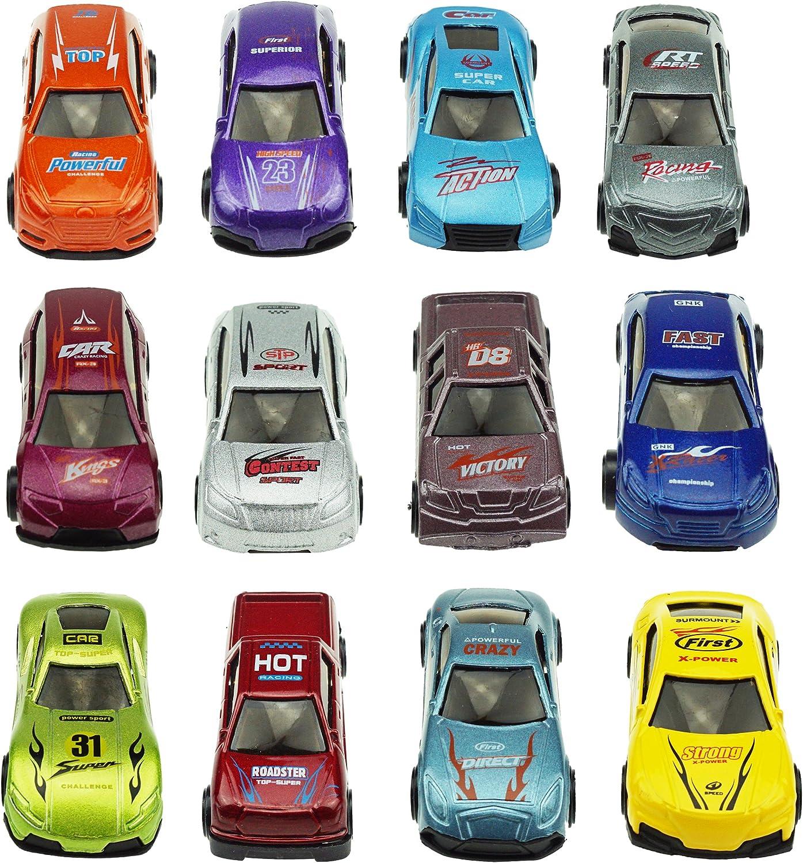 3.2 p/âques color/é Lumineux pr/éremplies en Plastique Oeufs avec diff/érentes Cars Die-cast JOYIN 12 Die-cast Car rempli big Oeufs de p/âques