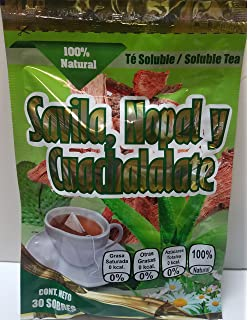 Savila Nopal y Cuachalalate Soluble Tea (30 bgs)