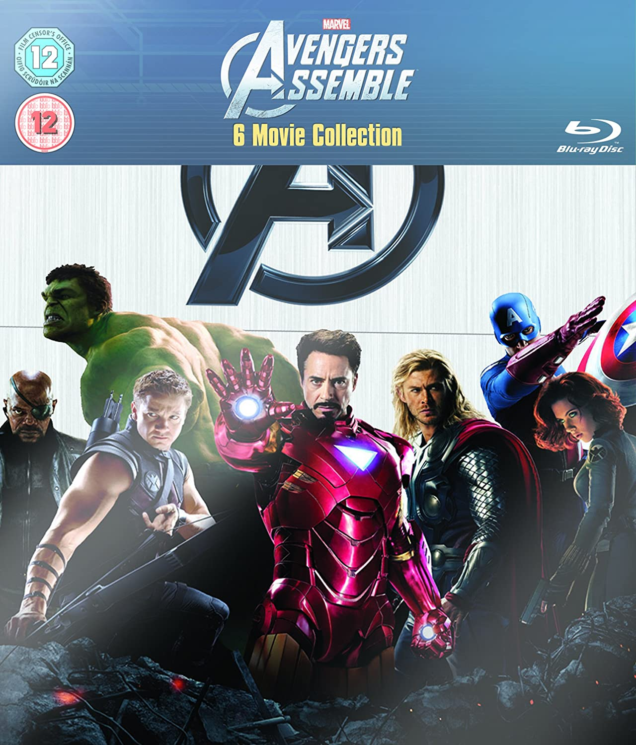 Marvel The Avengers Assemble Internation Reino Unido Blu-ray ...