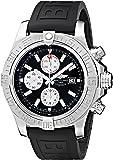 Breitling Men's BTA1337111-BC29BKPD3 Super Avenger II Analog Display Swiss Automatic Black Watch