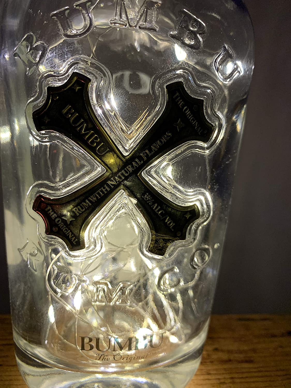 Beautiful gift Idea Glass Bottle Light Bumbu Rum 50 Micro LED Lamp
