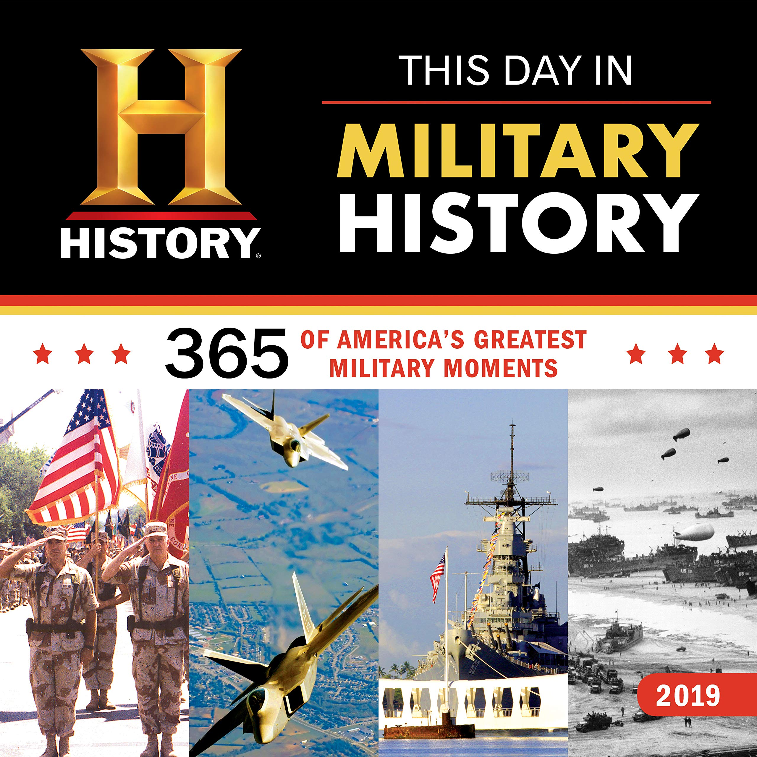 2019 History Channel This Day in Military History Wall