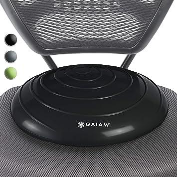 Amazon.com: Gaiam - Cojín de equilibrio de disco para silla ...
