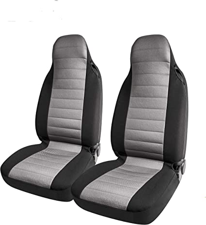 2PCS PICAUTO Baja Blanket Bucket Seat Cover for Car Airbag Compatible SUV Van Truck