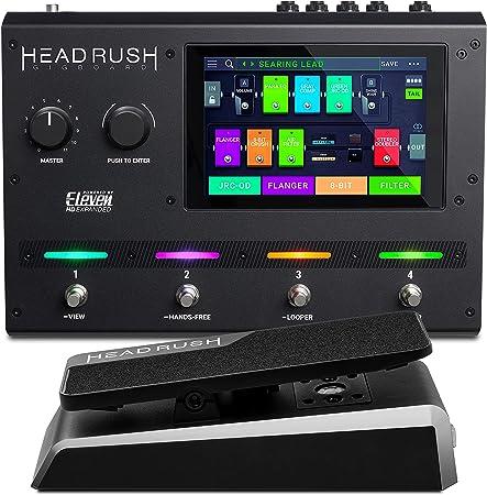 HeadRush Gigboard y Expression Pedal - Procesador de modelado ...