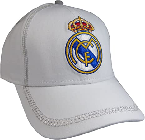 Gorra Real Madrid Blanca Adulto: Amazon.es: Deportes y aire libre