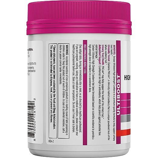 Suiza - Ultiboost de alta resistencia del tracto urinario del arándano 25000 mg. - 100 cápsulas: Amazon.es: Salud y cuidado personal