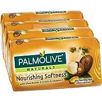 Palmolive Naturals Nourishing Softness Bar Soap Shea Butter 4 x 90g
