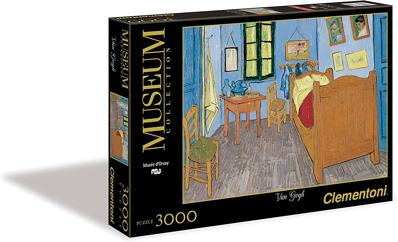 Clementoni - Puzzle de 3000 Piezas, Great Museum, diseño Van Gogh ...