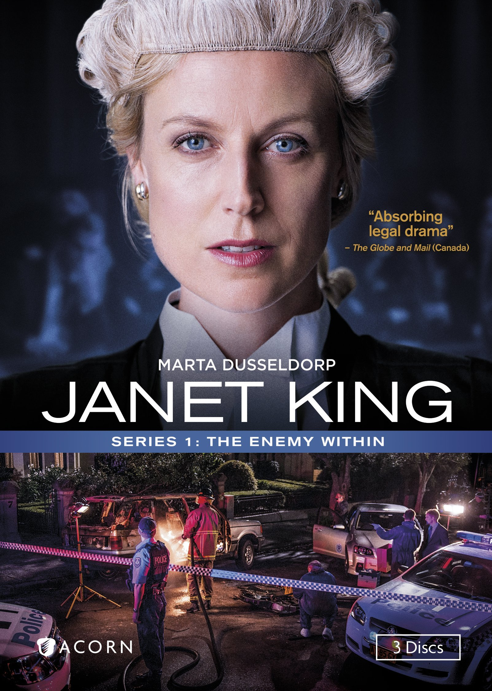 Janet King, Series 1: The Enemy Within