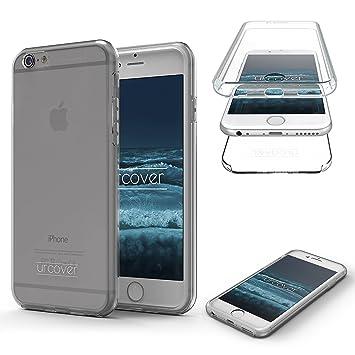 Urcover iPhone 6 Plus / 6s Plus Funda [Nueva Versión] Mejorada Funda Carcasa Apple iPhone 6 Plus / 6s Plus [Completa 360 Grados] TPU Transparente ...