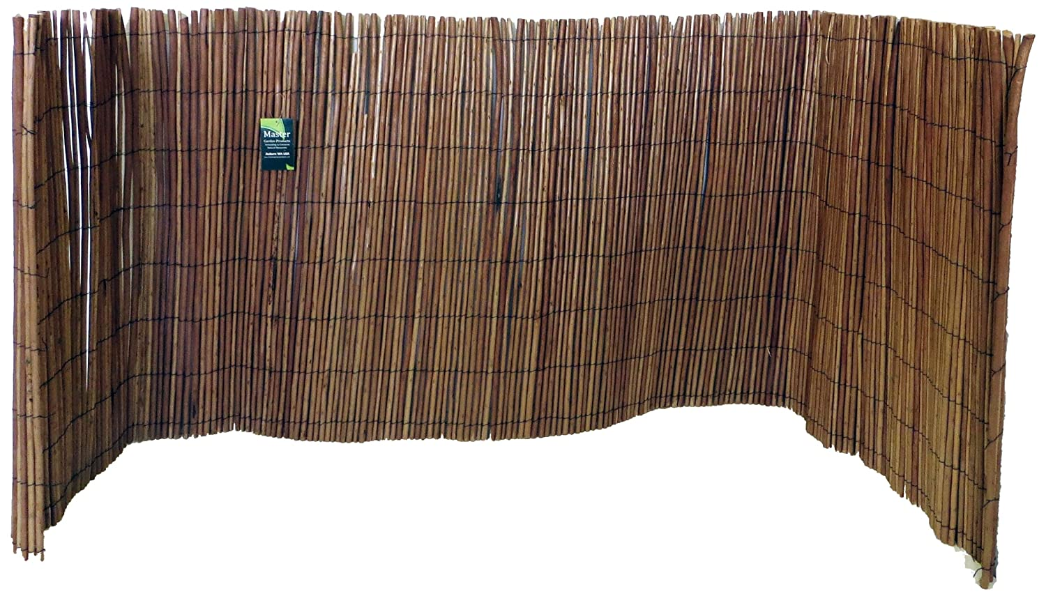 Amazon.com : Master Garden Products Willow Fence Screen, 5 by 14 ...