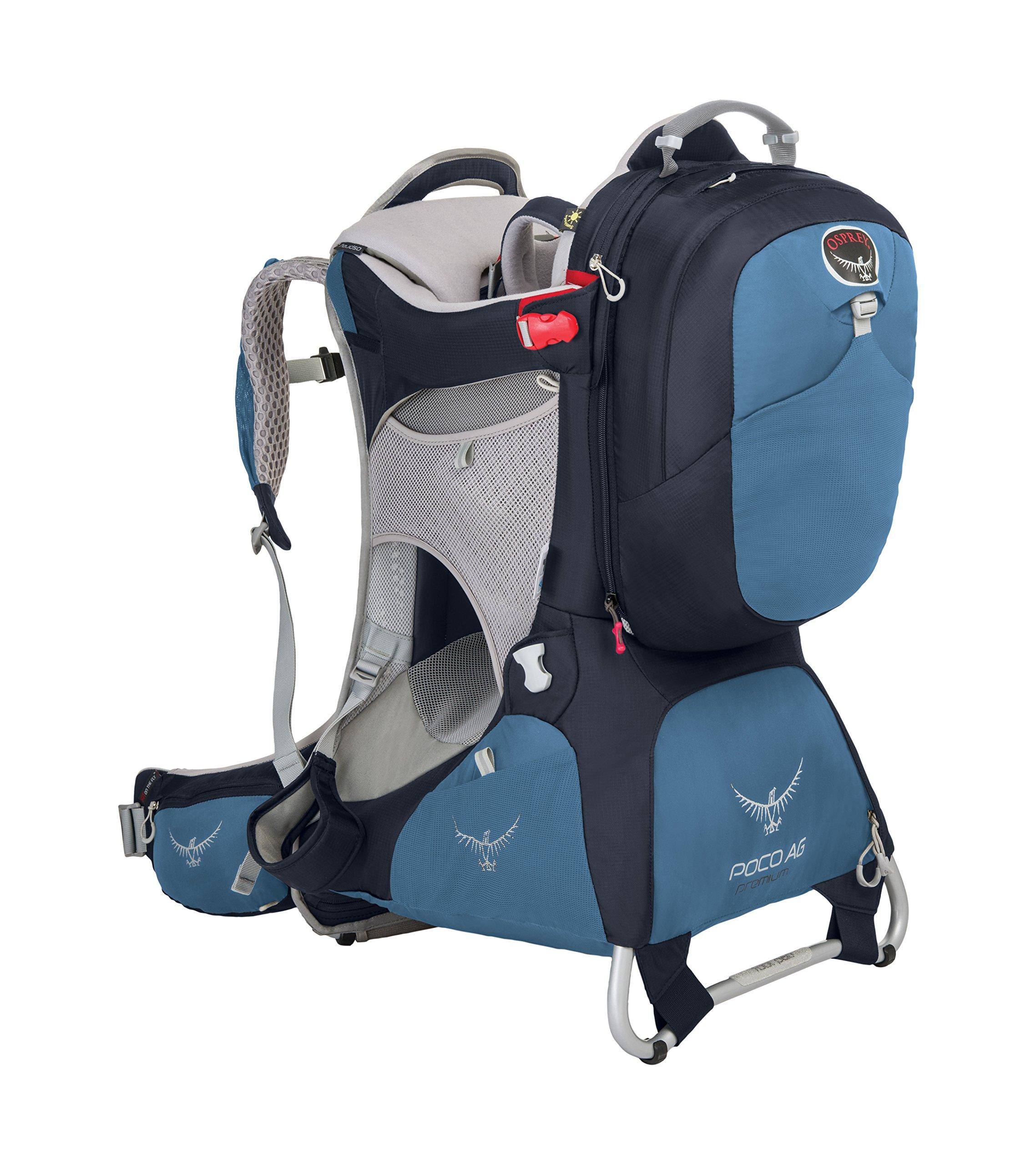 Osprey Packs Poco AG Premium Child Carrier, Seaside Blue