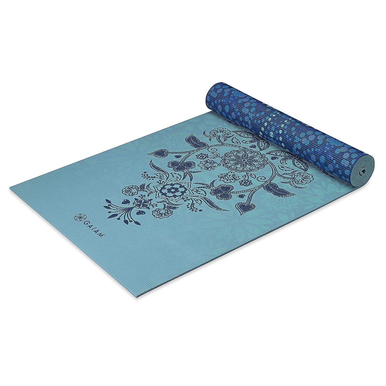 gaiam - Reversible Premium impresión Yoga Mat, Mystic Sky, 6 ...