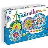 Sentosphere 3900679 - Aquarellum - Juego de acuarelas con 4 patrones [importado de Alemania]