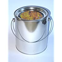 Feuerkorb klein silber Fire Basket ✔ rund