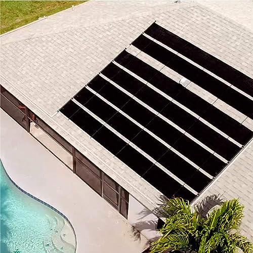 Smart-Pool-S601-Pool-Solar-Heaters,-Pack-of-1,-Black