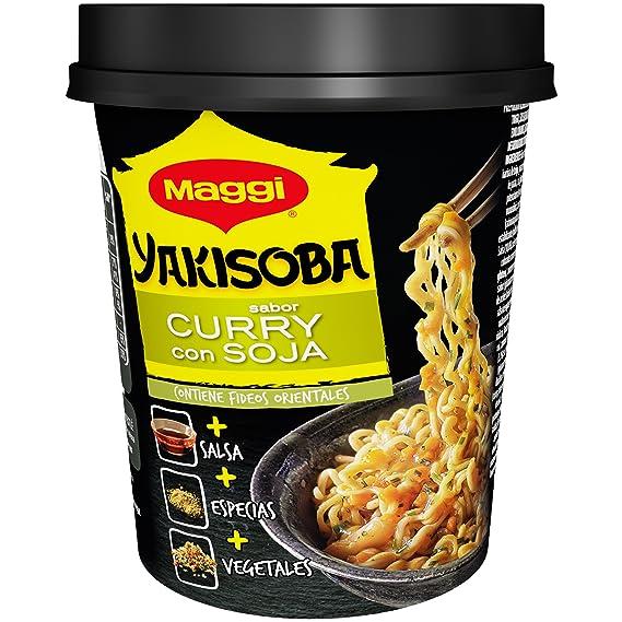 Maggi Preparado alimenticio de harina de trigo, salsa (con azúcar y edulcorante),