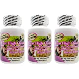 The Best Premium 300 Vegetarian Capsules (3 Bottle) 500mg Pueraria Mirifica breast enlargement Root