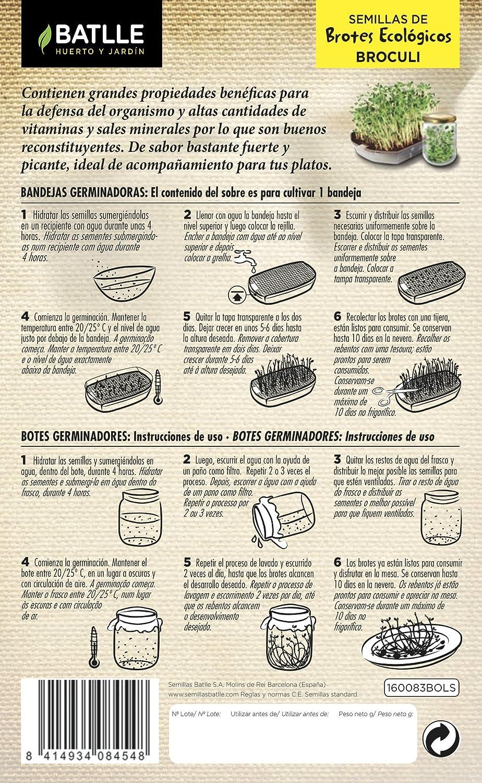 Semillas Ecológicas Bortes Brotes Mix Eco ENERGETICOS Batlle + ...