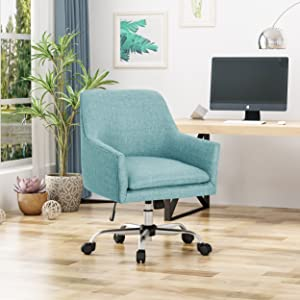 Christopher Knight Home 305756 Morgan Home Office Chair, Blue