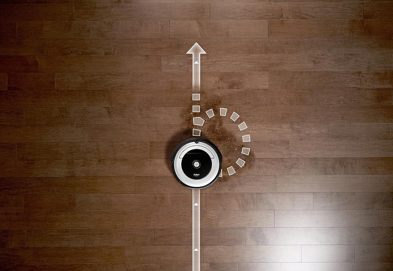 Irobot Roomba 605 Aspirateur Robot Systeme De Nettoyage Puissant