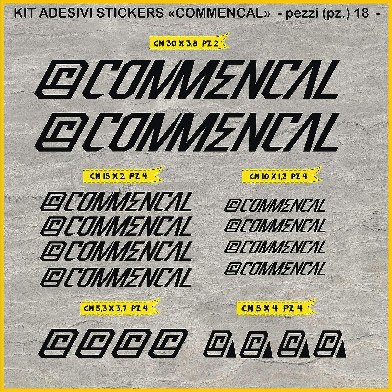 0301 - Pegatinas para bicicleta Commencal 2015, en kit de 18 ...