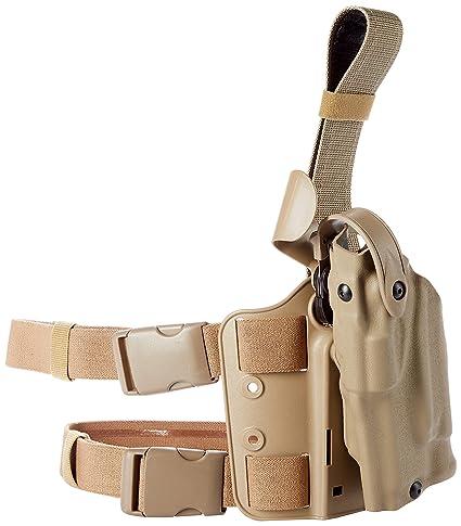 e3d65ff7169bf7 Safariland 6304 ALS Tactical Leg Holster, STX Flat Dark Earth, Left Hand