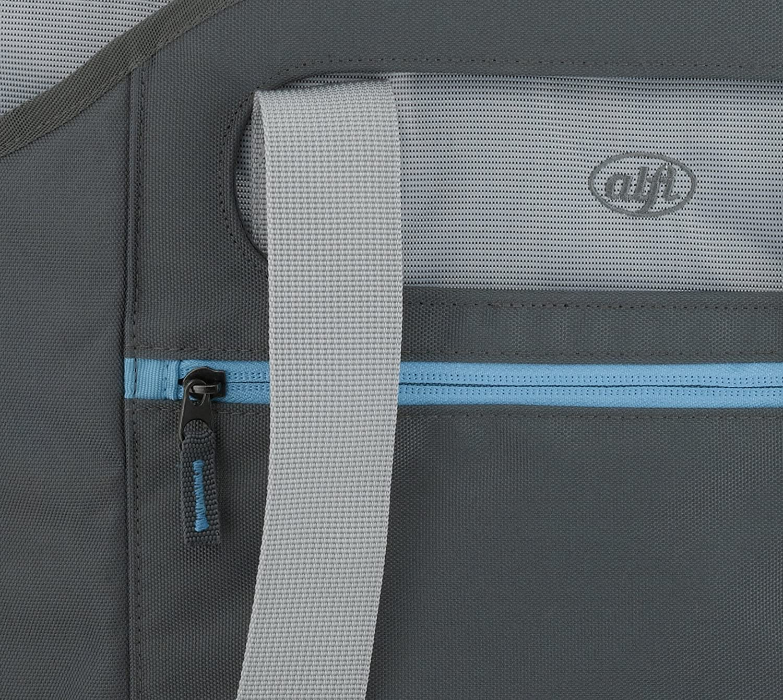 Alfi 0007.020.813 isoBag L 2 teilig 30 l K/ühltasche und Shopper Polyester 65 x 38 x 60 cm Space grau