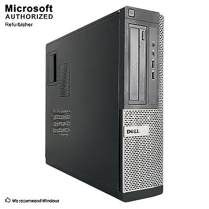 2018 DELL OPTIPLEX 390 DT Desktop Computer, Intel Core I3-2100 3 1GHz, 8GB  DDR3, 1TB, DVD, WIFI, HDMI, VGA, Bluetooth 4 0, Windows 10 Professional 64