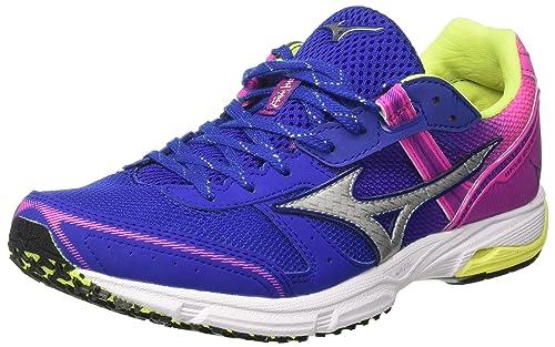 Mizuno Wave Emperor Wos, Zapatillas de Running para Mujer: Amazon.es: Zapatos y complementos