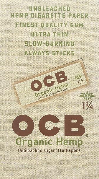 10 x OCB Organic Hemp Slim Rolls 4m Endlospapier Papers Long Pape OCB Rolle