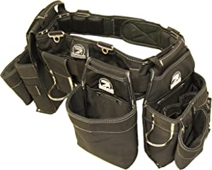 "Gatorback B145 Carpenters Triple Combo w/Pro-Comfort Back Support Belt. Heavy Duty Work Belt (Medium 31""-35"")"
