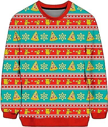 91JwjXbhHtL. AC SY445 Revista Dimensión Digital 50+ Ugly Sweaters Navideños inspirados en Series y pelis