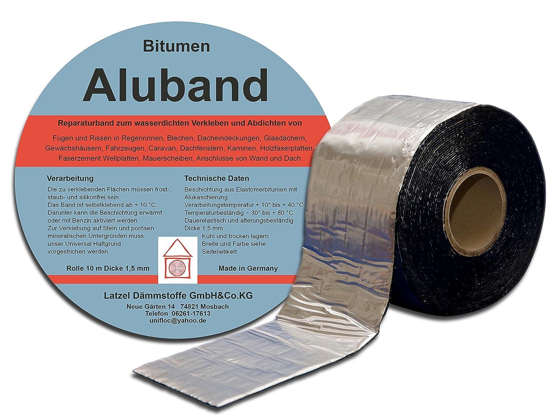 Bitumen Aluminium Band 50 Mm Amazon Co Uk Diy Tools