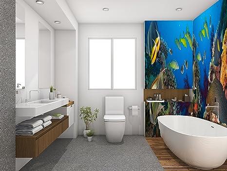 Ruvitex 3d rivestimento parete pavimento bagno vinile pvc tappeto di
