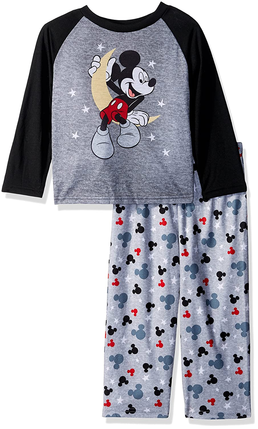 Disney Little Boys' Mickey 2 Piece Pajama Set