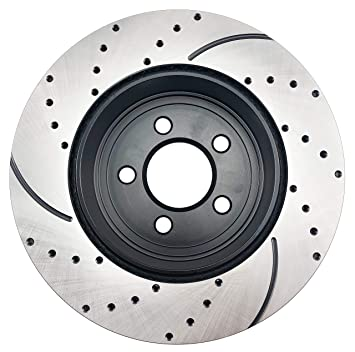 Amazon Com Atmansta Qpd10037 Rear Brake Kit With Drilledslotted
